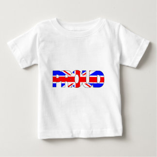Be Proud of Britain Baby T-Shirt