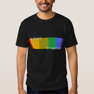 Be Proud Of These Colors T Shirt