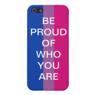 BE PROUD OF WHO YOU ARE iPhone 5/5S COVER