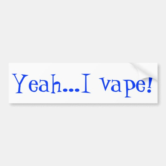 Be proud of your vape and let others