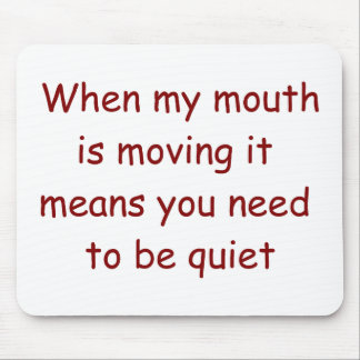Be Quiet Judge Mousepad