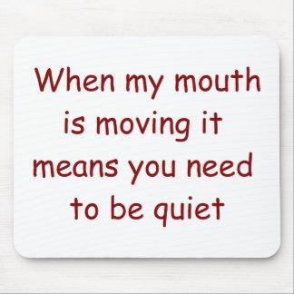 Be Quiet Judge Mousepad