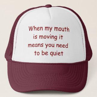 Be Quiet Lawyer Hat. Judge Judy at her best! Cap