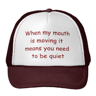 Be Quiet Lawyer Hat. Judge Judy at her best! Cap