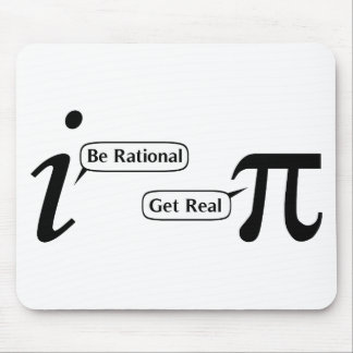 Be Rational Get Real Mouse Mat