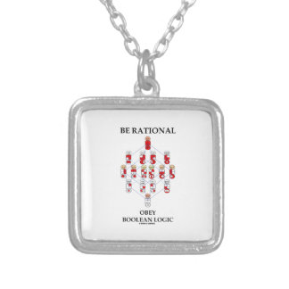 Be Rational Obey Boolean Logic (Hasse Diagram) Necklace