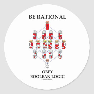 Be Rational Obey Boolean Logic Hasse Diagram Stickers