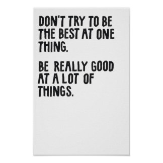 Be Really Good. Poster