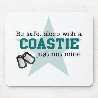 Be safe Coastie Mouse Pads