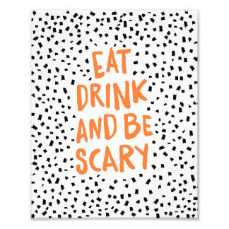 Be Scary Spotted | Halloween Art Print