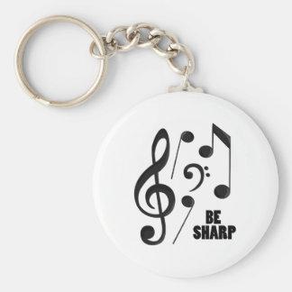 Be Sharp Keychains
