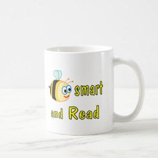 Be Smart Read Coffee Mugs