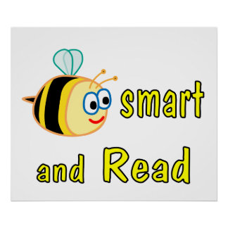 Be Smart Read Poster