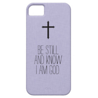 Be Still and Know Bible Verse iPhone Case iPhone 5 Cases