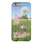 Be Still and Know Psalm 46:10 Bible Verse Quote Barely There iPhone 6 Case