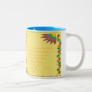 Be Still and Know that He is God Meditation Coffee Mug