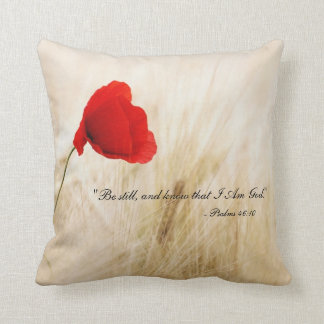 Be Still And Know That I Am God Pillow - Ps 46:10 Cushion