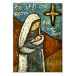 Be Still Christmas Card