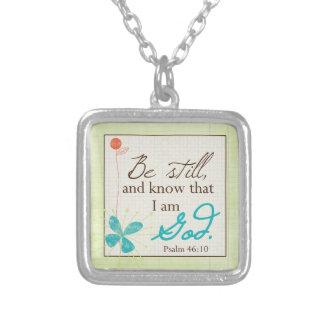 Be Still Custom Necklace