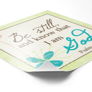 Be Still Custom Photo Print