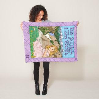 Be Still Fleece Blanket