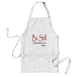 Be Still Standard Apron