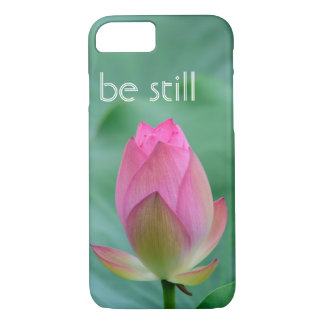 be still zen lotus buddha iPhone 8/7 case