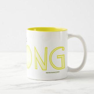 Be Strong - A Positive Word Coffee Mug