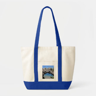 Be Strong - Arch Rock Tote Bags