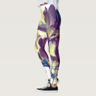 """Be strong, be brave, be fearless"" leggings"