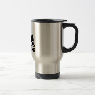 BE STRONG GORILLA TRAVEL MUG