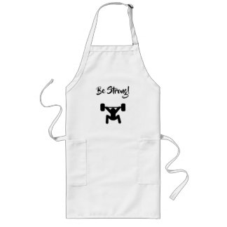 Be Strong Long Apron