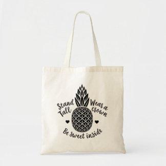 Be Sweet Inside Pineapple Tote Bag