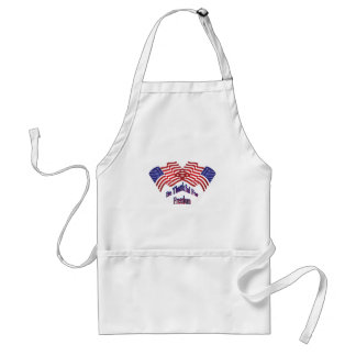 Be Thankful For Freedom Standard Apron