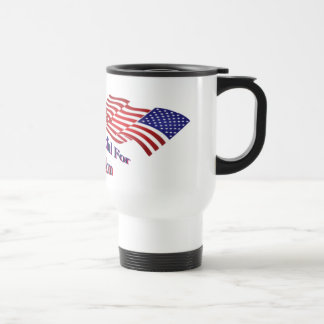 Be Thankful For Freedom Stainless Steel Travel Mug