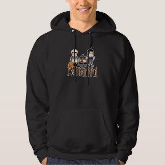 be thankful thanksgiving pilgrims hoodie