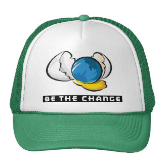 Be The Change Earth Day Cap