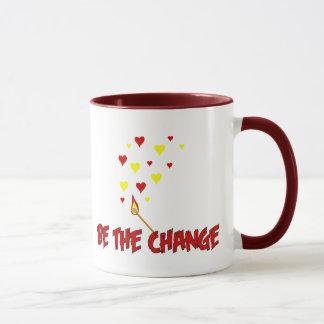 Be The Change Flame Mug
