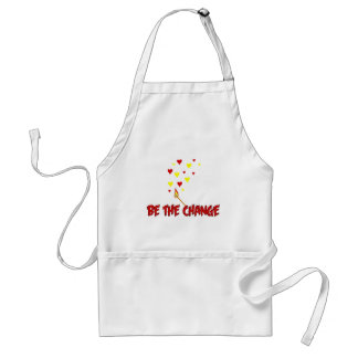 Be The Change Flame Standard Apron