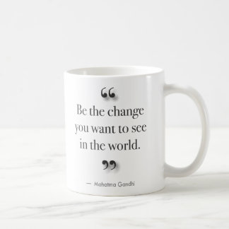 Be The Change - for left-handed drinkers Coffee Mug