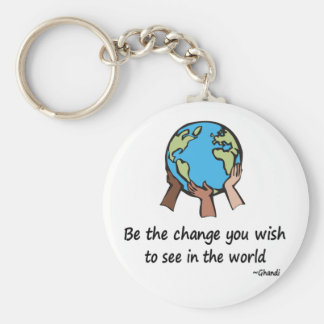 Be the Change Key Ring