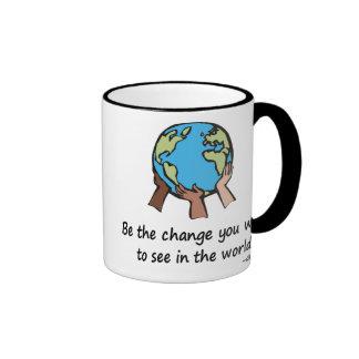 Be the Change Coffee Mugs