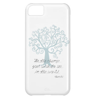 Be the Change Tree iPhone 5C Case