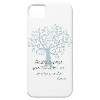 Be the Change Tree Barely There iPhone 5 Case