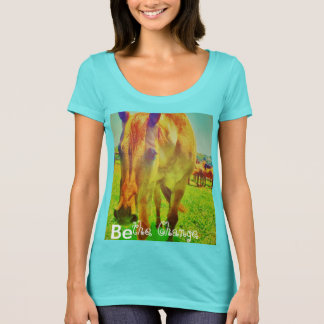 Be the Change Tshirt with horse