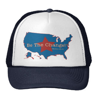 Be The Change USA Hat