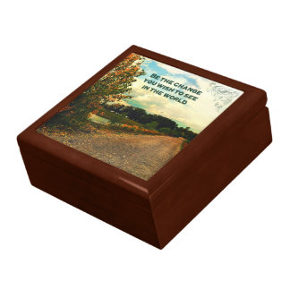 Be The Change You Wish To See In The World Gift Box