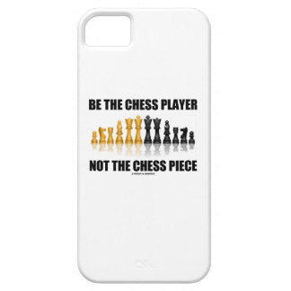 Be The Chess Player Not The Chess Piece (Attitude) iPhone 5 Covers