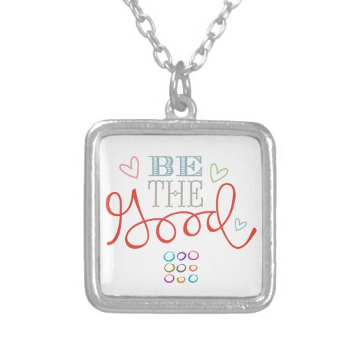 Be The Good Personalized Necklace