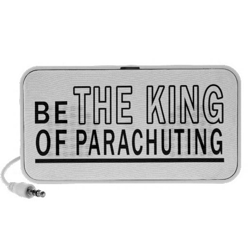 Be The King Of Parachuting Speakers